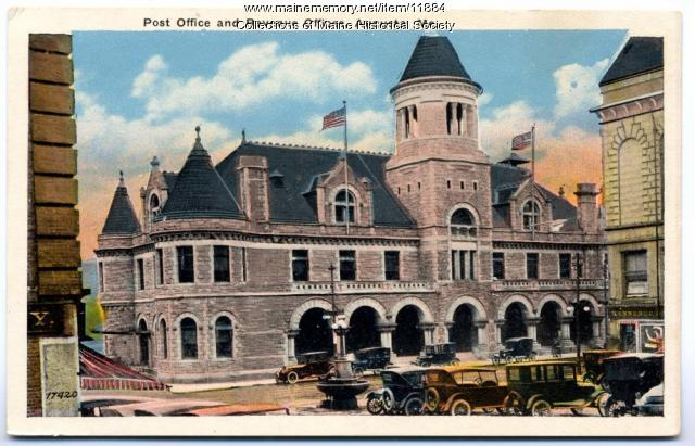 Post Office and Revenue Offices, Augusta, ca. 1920
