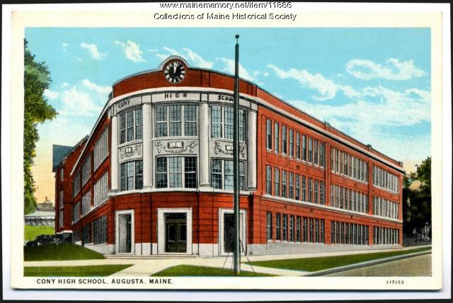 Cony High School, Augusta, ca. 1930