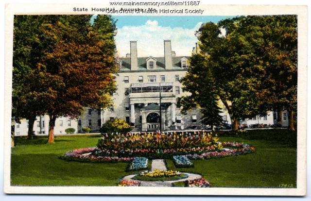 State Hospital, Augusta, ca. 1900
