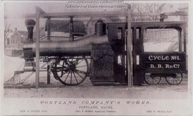 Cycle No. 1, Portland Company, ca. 1889