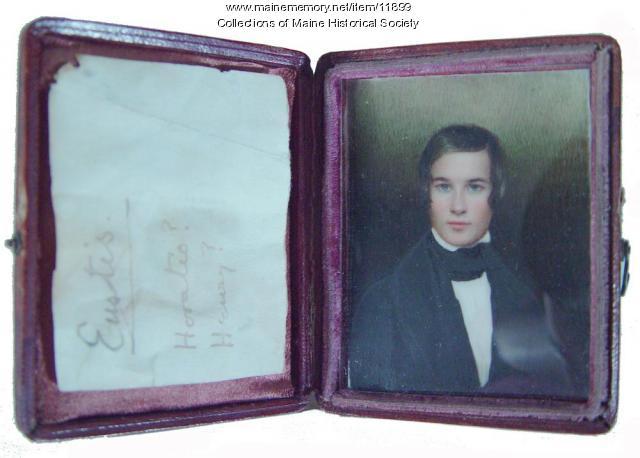 Portrait miniature, ca. 1830