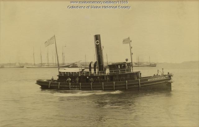 Steam Tug Cumberland, ca. 1910