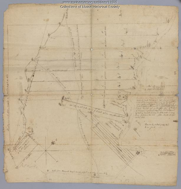 Seven lots on the Androscoggin River, 1771