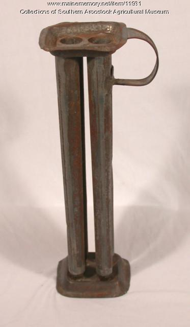 Candle Mold, Littleton, ca. 1850