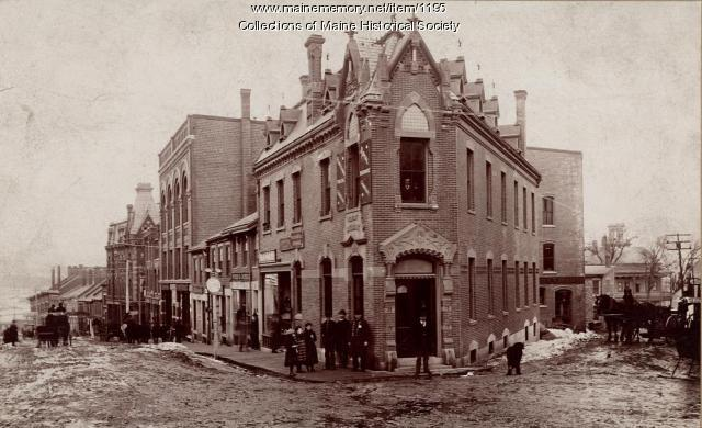 City National Bank, Belfast, ca. 1878