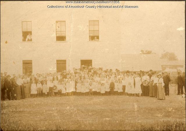 Children's Day, Houlton Grange, 1904