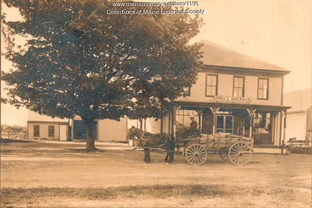 Sherman's Store, Scarborough, ca. 1907