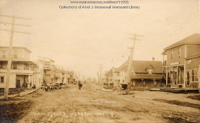 Main Street, Keegan, ca. 1920