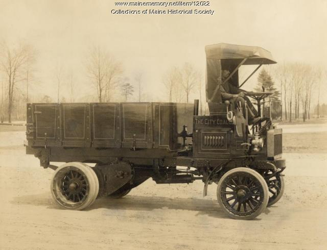 Knox Coal truck, c. 1914