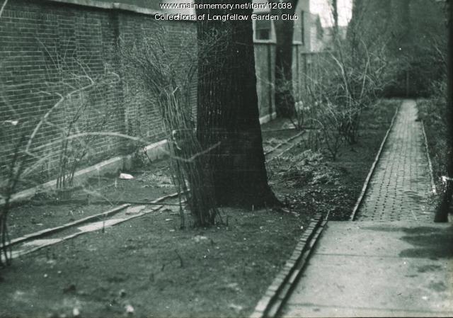 Longfellow Garden wall, Portland, ca. 1936