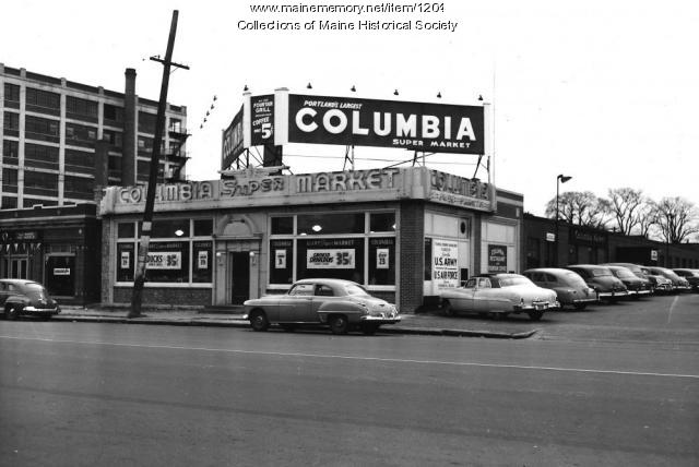 Columbia Market, Portland, 1951