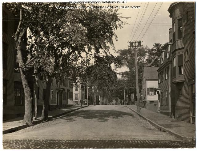 Clark Street, Portland, c1917