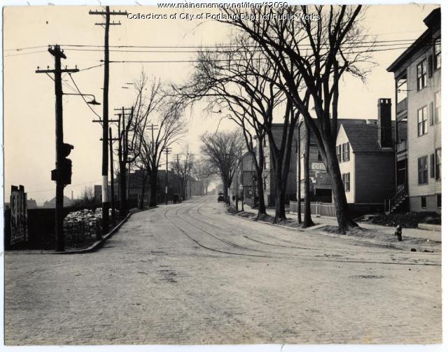 York Street from High Street, Portland, 1916