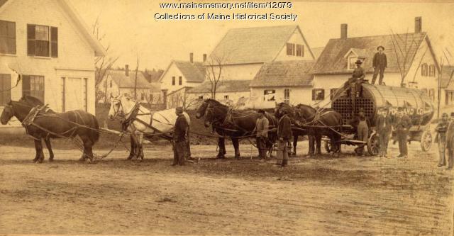 Portland Company boiler, ca. 1890