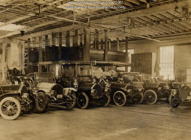 Knox automobiles, Portland Company, 1909