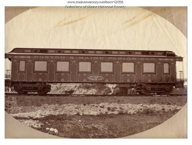 Boston & Maine Parlor Car, c. 1900