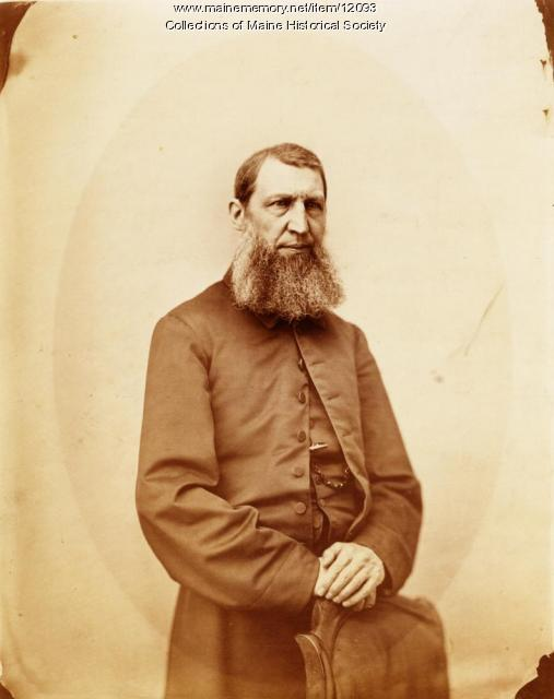 Rev. William B. Hayden, Portland, ca. 1870