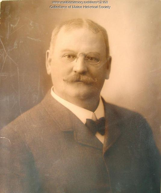 Charles M. Moses, ca. 1890