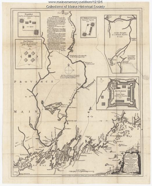Kennebec,Sagadahok Rivers, 1755