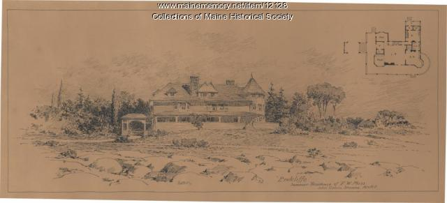 Endcliffe summer residence, ca. 1900