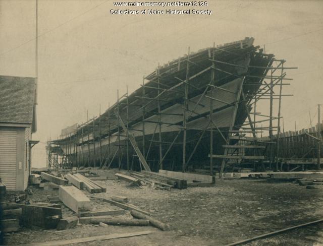 Steamer Ripogenus, Rockland, ca. 1917