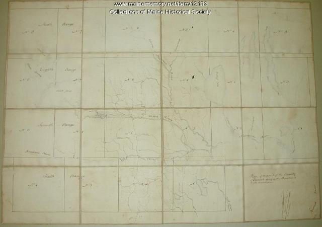 Plan of that part of the county of Hancock lying on the Piscataquis.., 1806