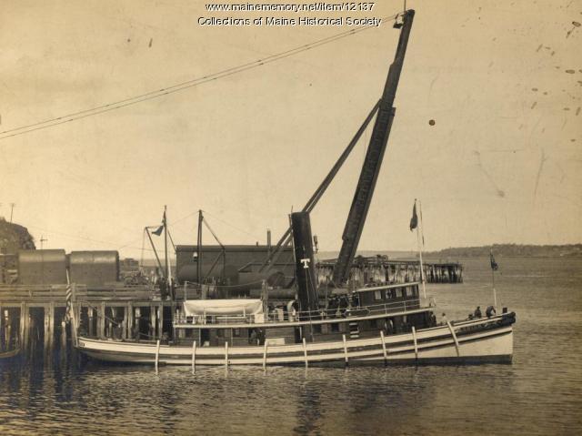 Towboat Orion, Portland Company, 1905