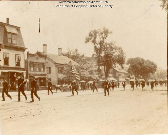 July 4 Parade, Brunswick, ca. 1910
