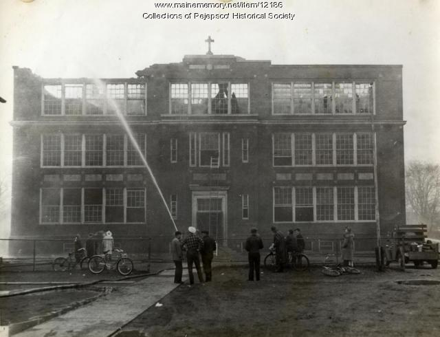 St. John's School, Brunswick, 1943