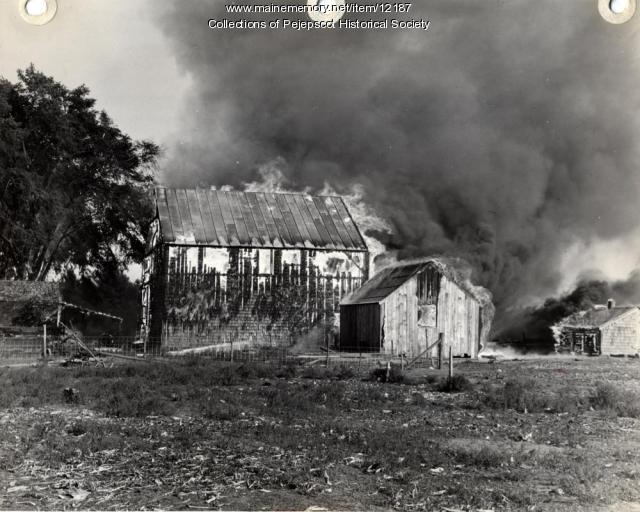 Topsham Town Farm, 1941