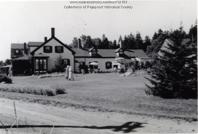 The Homestead, Bailey Island, 1938