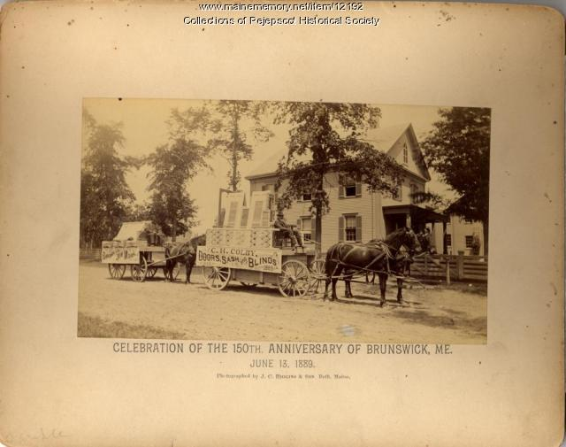 Brunswick Anniversary Celebration, 1889