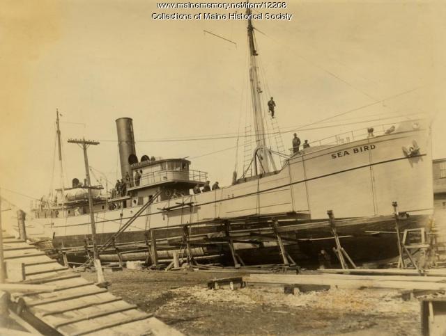 Fishing Trawler Sea Bird, Portland Company, 1919