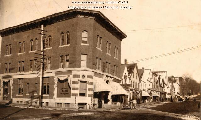 Downtown Ellsworth, ca. 1890