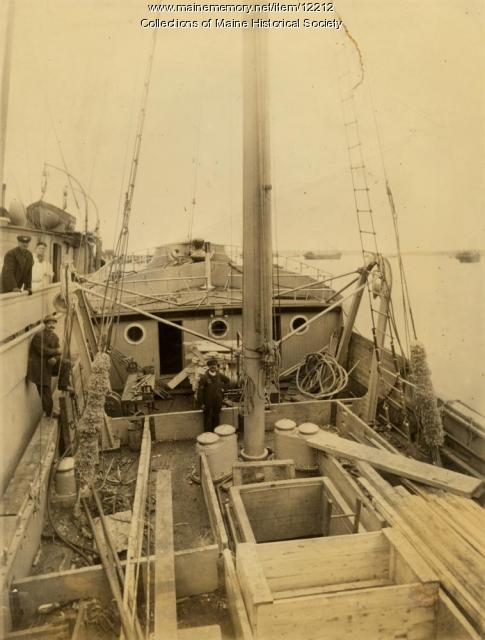 Fishing boat, c. 1920