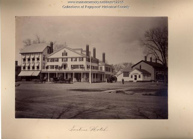 Tontine Hotel, Brunswick, ca. 1890