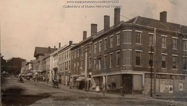 Main Street, Ellsworth, ca. 1896