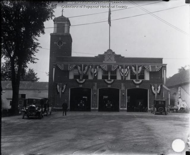 Brunswick Fire Station, c. 1920