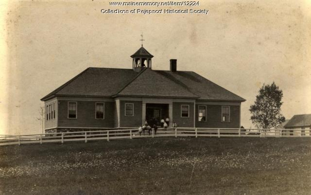 West Harpswell School, ca. 1900