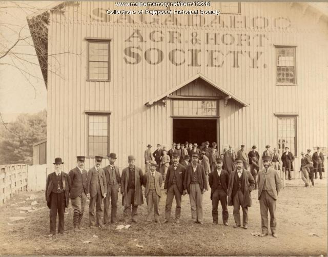 Exhibition Hall, Topsham Fair, ca. 1890