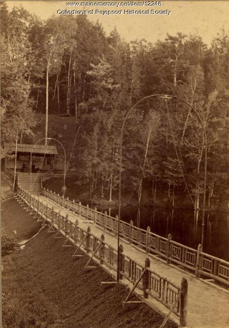 Bridge at Merrymeeting Park, Brunswick