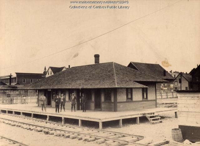 Aroostook Valley Railroad Station - Caribou