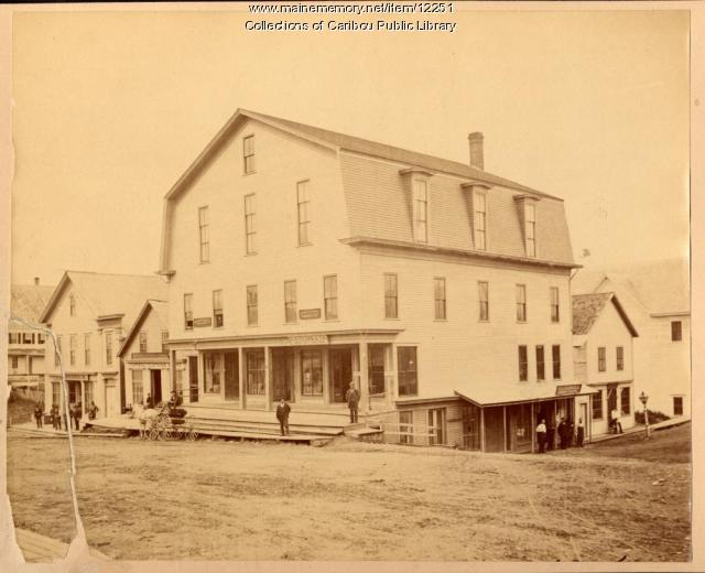 Clark Block, Caribou