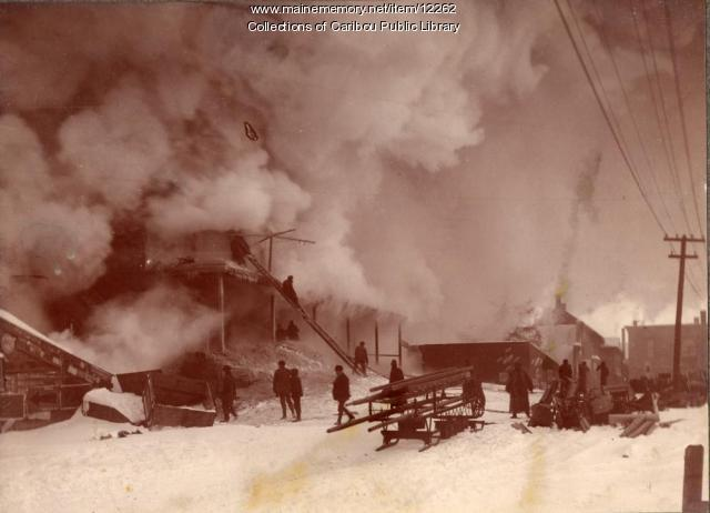 Caribou fire, 1890
