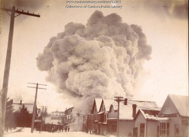 Fire, Caribou, 1890