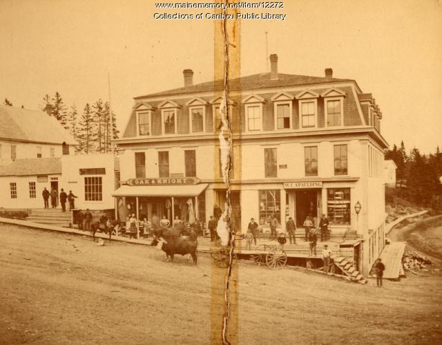 Oak & Knight Store, c. 1895