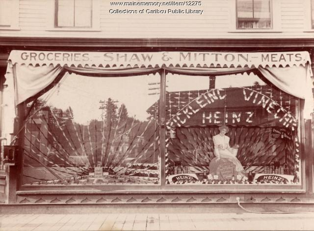 Shaw and Mitton store, Caribou, ca. 1895