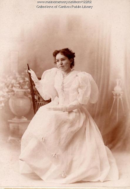 Grace Hall Stratton, Caribou, 1895
