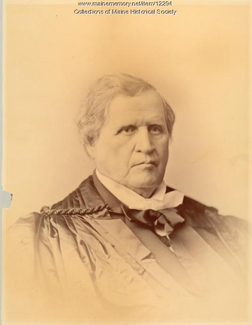 Nathan Clifford, Newfield, ca. 1880