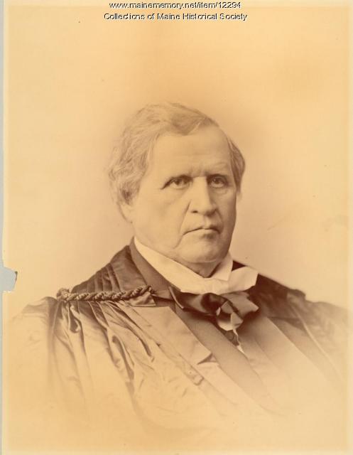 Nathan Clifford, Newfield, ca. 1880